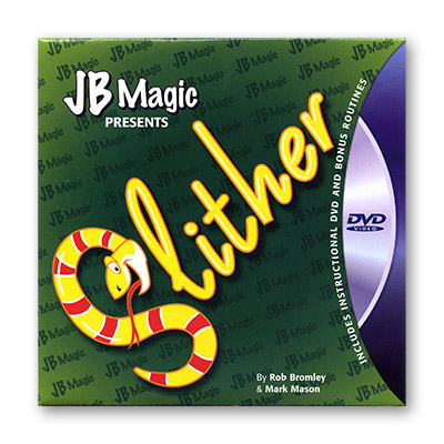 Slither  by Rob Bromley and Mark Mason and JB Magic - DVD