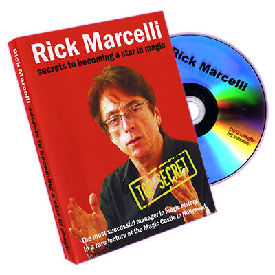 Secrets to becoming a star in magic by Rick Marcelli - DVD