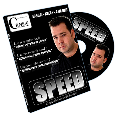 Speed (DVD and RED Bicycle Card) by Mickael Chatelain - DVD