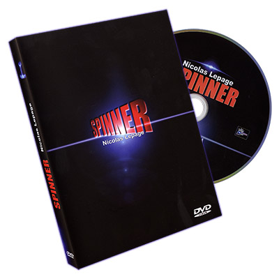 Spinner by Nicolas Lepage - DVD