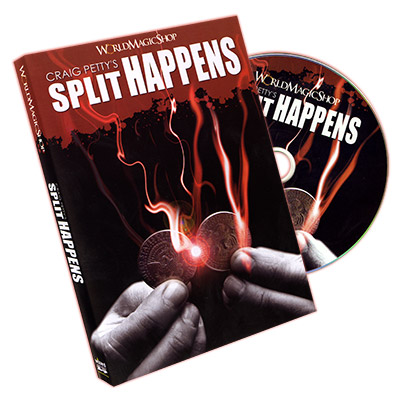 Split Happens by Craig Petty and World Magic Shop - DVD