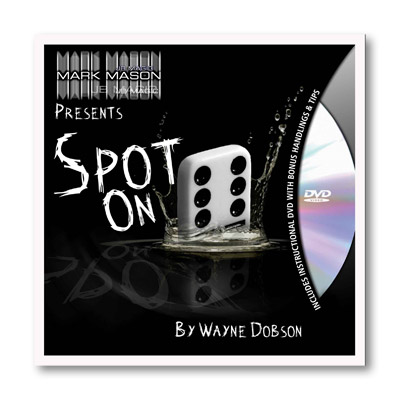 Spot On (Props and DVD) by Wayne Dobson and JB Magic  - DVD