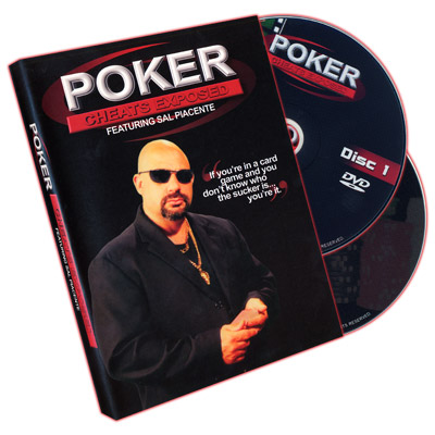 Poker Cheats Exposed (2 DVD) - Sal Piacente