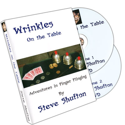 Wrinkles On The Table (2 Disc set) by Steve Shufton - DVD