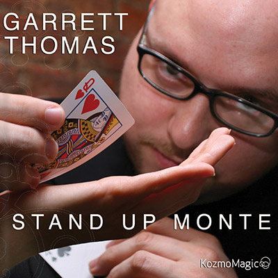 Stand Up Monte (DVD & Gimmick) - Garrett Thomas & Kozmomagic - DVD