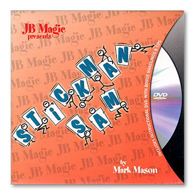 Stick Man Sam w/DVD by Mark Mason and JB Magic - Trick