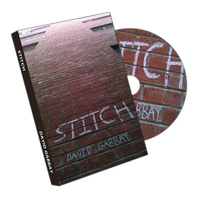 Stitch (DVD and Gimmick) by David Gabbay - DVD