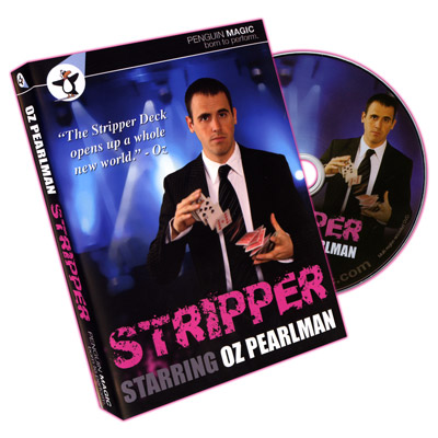 Stripper (With deck, RED) by Oz Pearlman - DVD