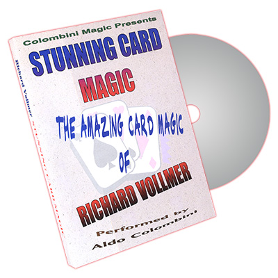 Stunning Card Magic by Richard Vollmer and Aldo Colombini - DVD