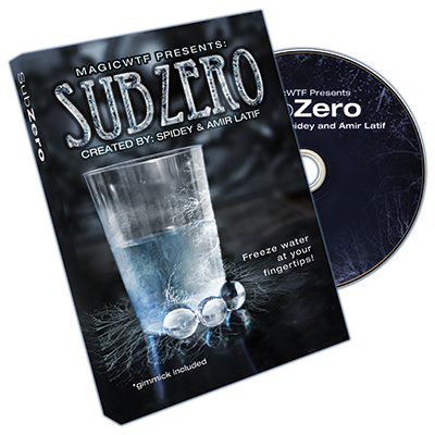 Sub-Zero (Gimmicks and DVD) by Spidey - DVD