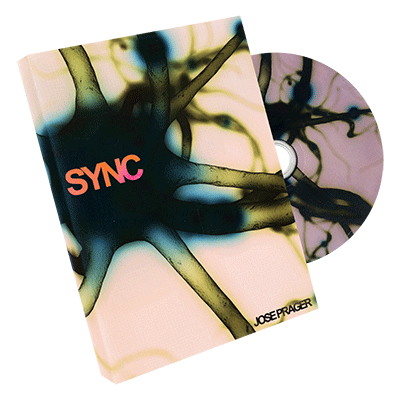 Sync (Gimmick and DVD) by Jose Prager and Paper Crane Productions - DVD