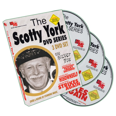 Scotty York - The Silver Fox 3 Volume Set - DVD