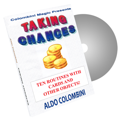 Taking Chances by Wild-Colombini Magic - DVD