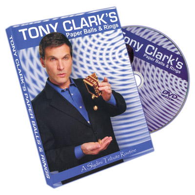 Paper Balls And Rings by Tony Clark - DVD