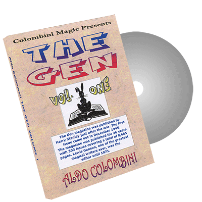 The Gen Vol.1 by Wild-Colombini Magic - DVD