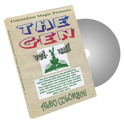 The Gen Vol.3 by Wild-Colombini Magic - DVD