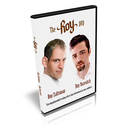 The Roy DVD by Roy Zaltsman and Roy Yozevitch - DVD