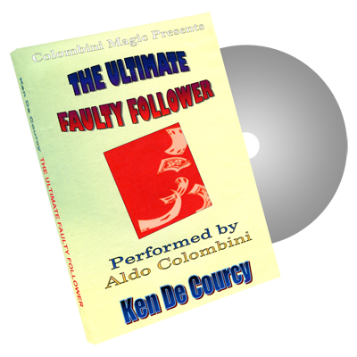 The Ultimate Faulty Follower by Wild-Colombini Magic - DVD