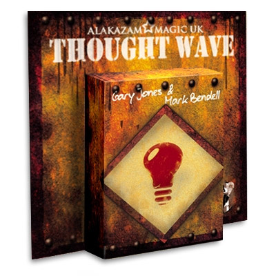 Thought Wave by Gary Jones & Alakazam Magic - DVD