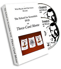 Three Card Monte School Scound, DVD