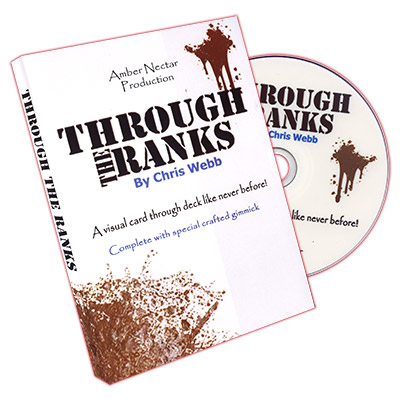 Through The Ranks (Red Back With DVD) by Chris Webb - DVD