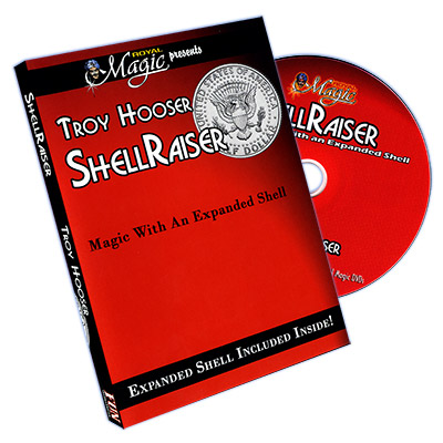 Shellraiser by Troy Hooser (With Shell Coin) by Troy Hooser - DVD