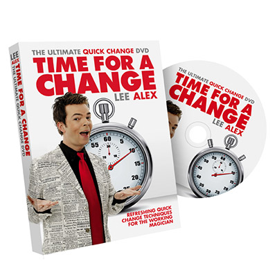 Time For A Change by Lee Alex - DVD
