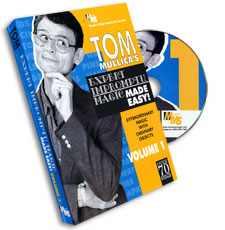 Mullica Expert Impromptu Magic Made Easy Tom Mullica- #1, DVD