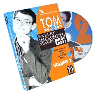 Mullica Expert Impromptu Magic Made Easy Tom Mullica- #2, DVD