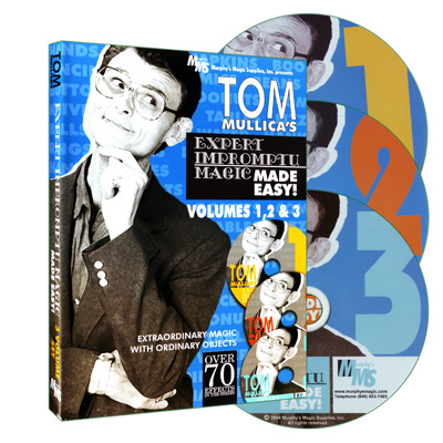 Tom Mullica's Impromptu Magic 3 Disc Combo by Murphy's Magic Supplies - DVD