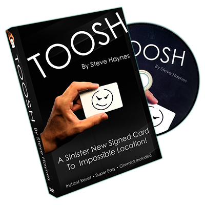 Toosh (Gimmick and DVD) by Steve Haynes