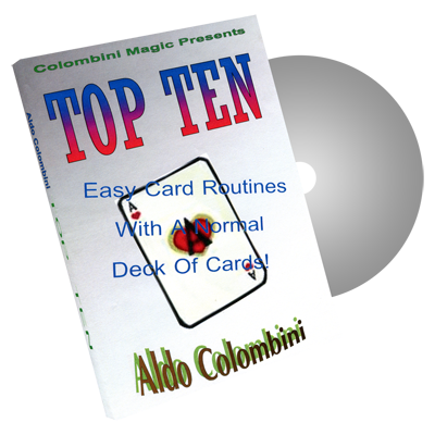 Top Ten by Wild-Colombini Magic - DVD