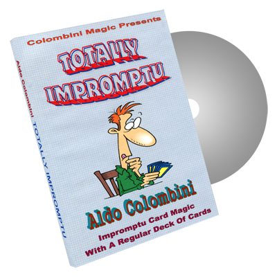 Totally Impromptu by Wild-Colombini Magic - DVD