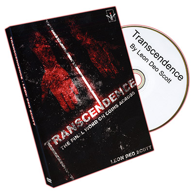 Transcendence by Leon Deo Scott and Merchant of Magic - DVD