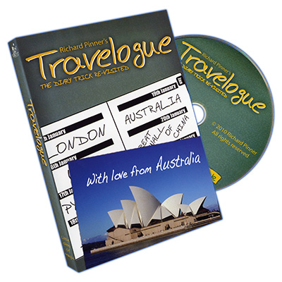 Travelogue (Props and DVD in PAL) by Richard Pinner - DVD