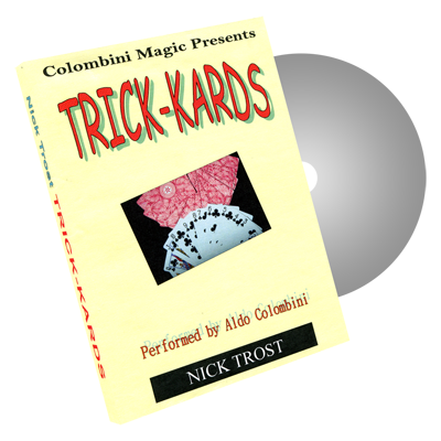 Trick Kards by Wild-Colombini Magic - DVD