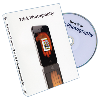Trick Photography (Props and DVD) by Steve Gore  DVD