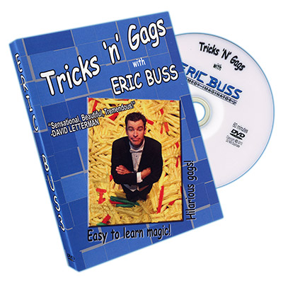 Tricks N Gags by Eric Buss - DVD