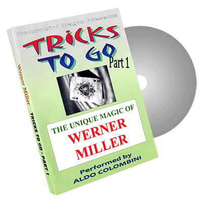 Tricks to Go (Werner Miller) Vol. 1 by Aldo Colombini - DVD