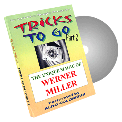 Tricks to Go (Werner Miller) Vol. 2 by Aldo Colombini - DVD