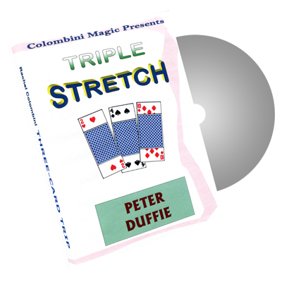 Triple Stretch by Wild-Colombini Magic - DVD