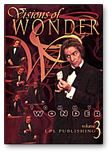 Tommy Wonder Visions of Wonder- #3, DVD
