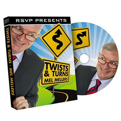 Twist & Turns - Mel Mellers & RSVP Magic - DVD