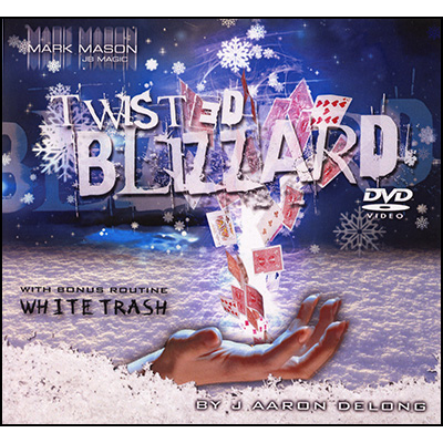 Twisted Blizzard (DVD and Deck) by Aaron Delong and JB magic - DVD