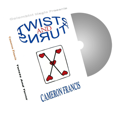 Twists & Turns by Wild-Colombini Magic - DVD