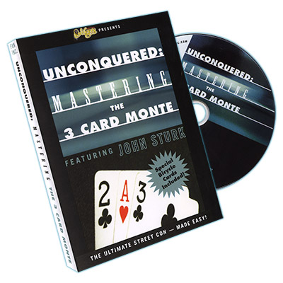 Unconquered: Mastering the Three-Card Monte (DVD & Cartas)