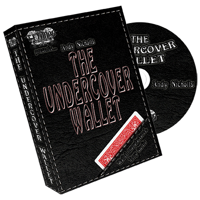 The Undercover Wallet (DVD and Gimmick) by Andy Nicholls and Titanas - Trick