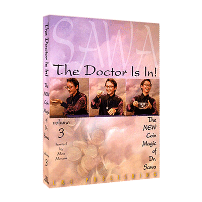 The Doctor Is In The New Coin Magic of Dr. Sawa Vol 3 video DOWNLOAD