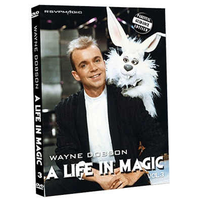 A Life In Magic From Then Until Now Vol.3 by Wayne Dobson and RSVP Magic video DOWNLOAD