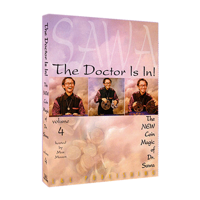The Doctor Is In The New Coin Magic of Dr. Sawa Vol 4 video DOWNLOAD
